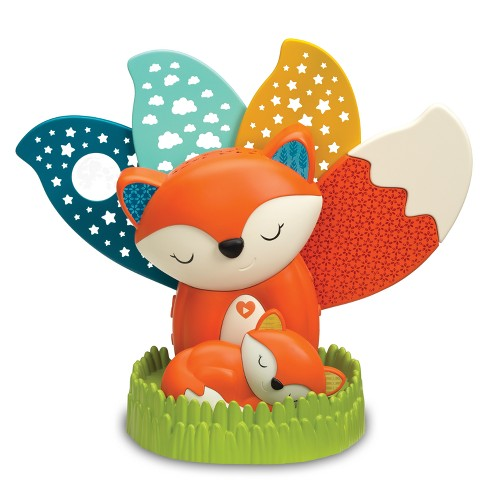 Infantino Go gaga! 3-In-1 Musical Soother & Night Light Projector - Orange - image 1 of 4
