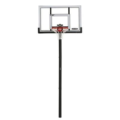 "Lifetime 52"" Adjustable In-Ground Basketball Hoop"