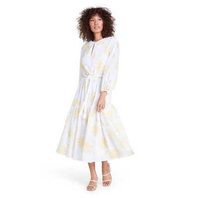 Floral Embroidered Dress - ALEXIS for Target White/Yellow