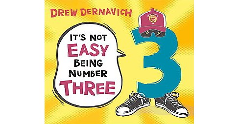 It's Not Easy Being Number Three (School And Library) (Drew Dernavich) - image 1 of 1