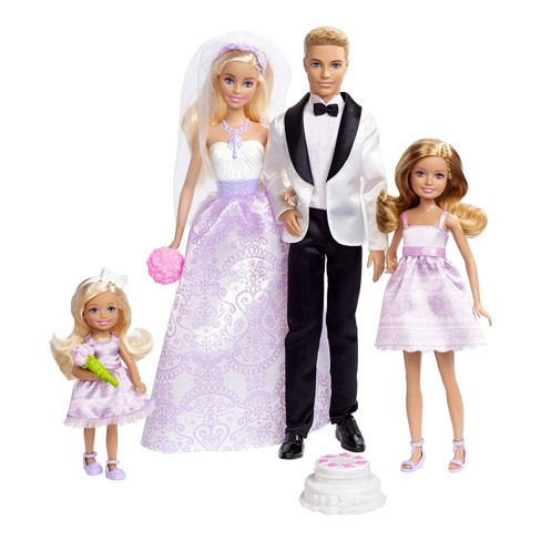 Barbie Wedding Giftset Target