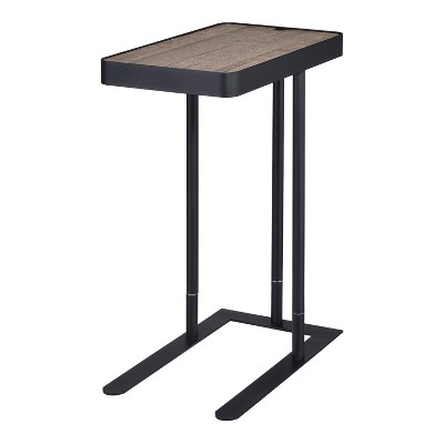 Callander Hidden Storage Height Adjustable Side Table - miBasics