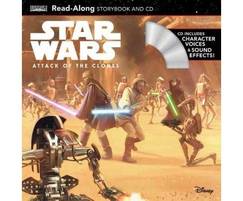 Star Wars Attack of the Clones : Read-along Storybook (Paperback) - image 1 of 1