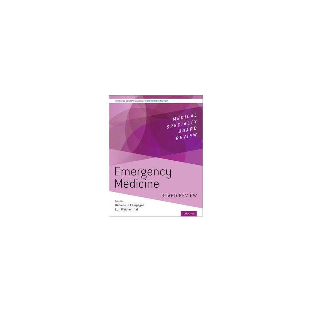 Emergency Medicine : Board Review - 1 Pap/Psc (Paperback)