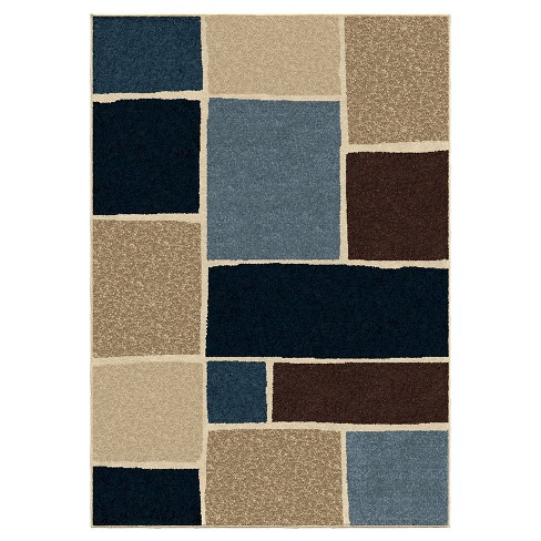 Orian Rugs Atlas Napa Indoor Outdoor Area Rug 5 2 X 7 6