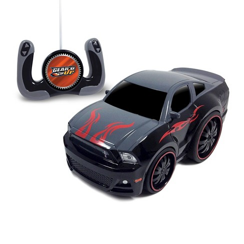 Jam'n Products Gear'd Up Chunky Ford Mustang Remote Control Vehicle, Gray - image 1 of 1