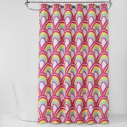 Rainbows Shower Curtain - Pillowfort™ - image 1 of 2
