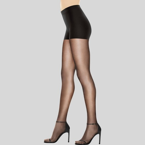 1fff500b0e7ba Hanes Premium Women's Perfect Nudes Control Top Silky Ultra Sheer Pantyhose  - Black M : Target