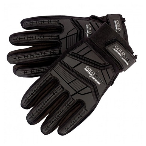 Cold Steel GL13 Universal Use Protective Military Combat Training Tactical Gloves, Extra Large, Black - image 1 of 4