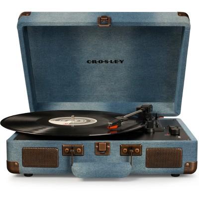 Crosley Cruiser Deluxe Turntable - Denim