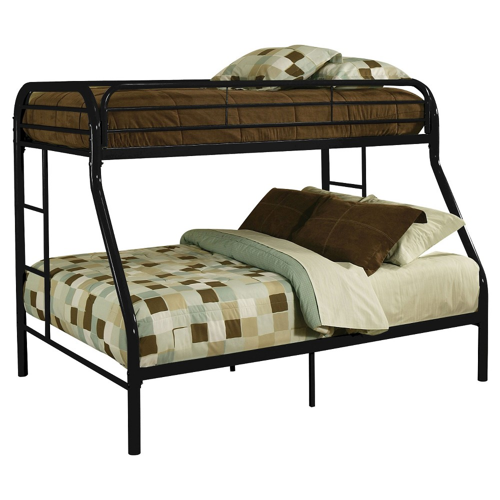 Tritan Kids Bunk Bed - Black(Twin XL/Queen) - Acme