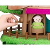 Li'l Woodzeez Toy Treehouse with Elevator 22pc - Treehouse Playset - image 3 of 4