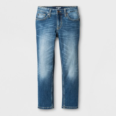 Boys' Stretch Skinny Fit Jeans - Cat & Jack™ Medium Wash