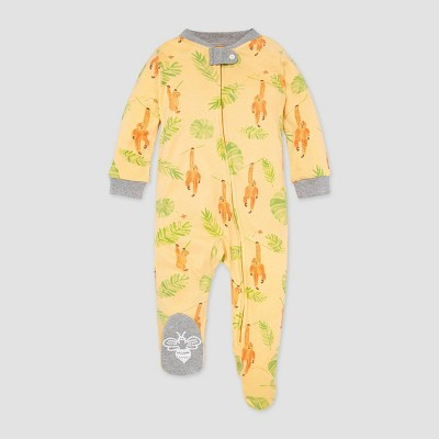 Burt's Bees Baby® Baby Boys' Monkey See Monkey Do Sleep N' Play - Gray