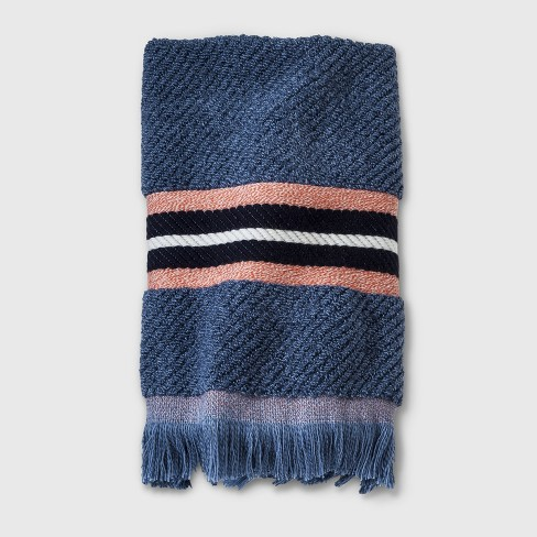 Woven Multi Striped Hand Towel Sour Cream - Threshold™ - image 1 of 1