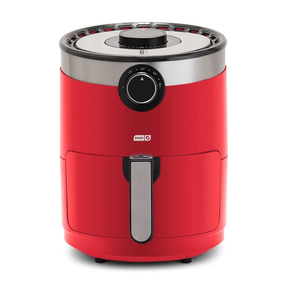Image of Dash 3qt Aircrisp Air Fryer - Red
