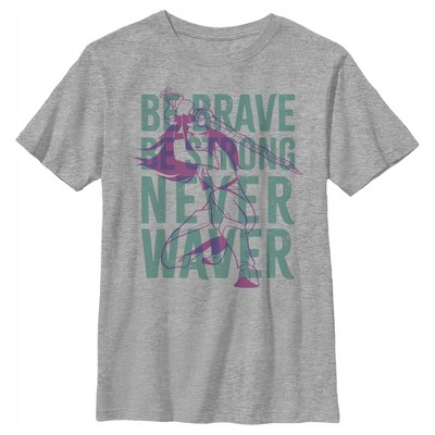 Boy's Raya and the Last Dragon Be Brave Be Strong Never Waver T-Shirt