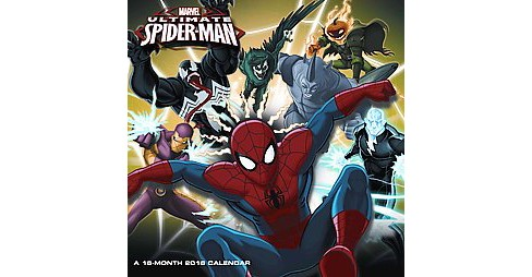 Marvel Ultimate Spider-Man 2016 Calendar (Paperback) - image 1 of 1