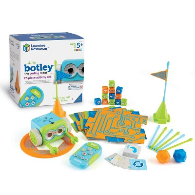 Learning Resources Botley the Coding Robot Activity Set, Innovative Toy of the Year Award, 77 Pieces