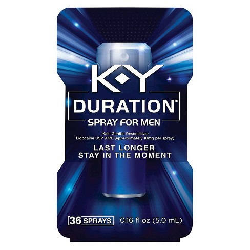 K-Y Duration Spray for Men 36 sprays - image 1 of 3