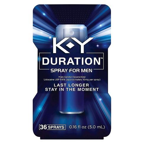 K-Y Duration Spray for Men 36 sprays - image 1 of 3