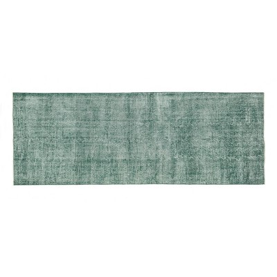 """4'7""""x12'3"""" Vintage One-of-a-Kind Bui Rug Green - Revival Rugs"""