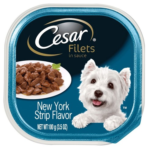 CESAR® Canine Cuisine Filet Mignon Flavor Wet Dog Food - 3.5oz tray - image 1 of 1
