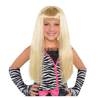 Little Diva Halloween Costume Wig