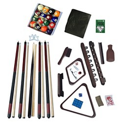 Hathaway Deluxe Billiards Accessory Kit