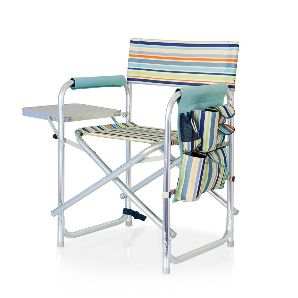 Picnic Time Sports Chair St Tropez Collection