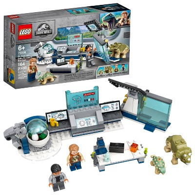 LEGO Jurassic World Dr. Wu's Lab: Baby Dinosaurs Breakout Fun Dinosaur Toy for Creative Play 75939