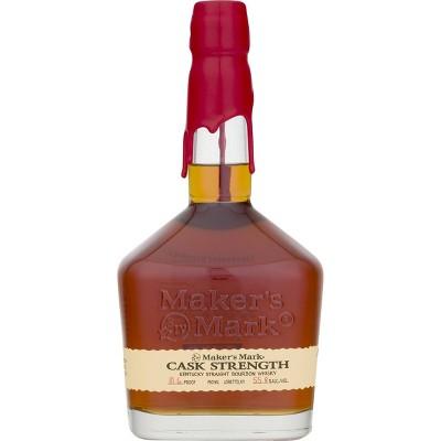 Maker's Mark Bourbon Cask Strength Bourbon Whisky - 750ml Bottle