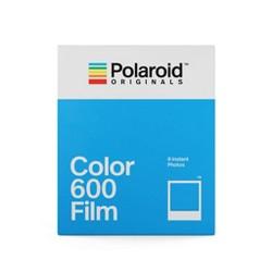Polaroid Color Film for 600- White Frame