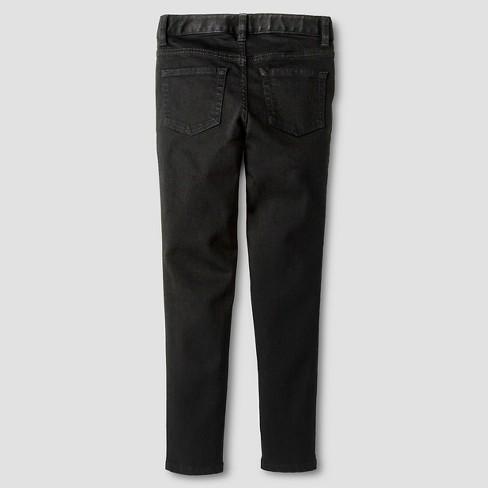 ddb2bfbb65f Girls  Super Skinny Jeans - Cat   Jack™ Black   Target