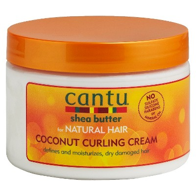 Hair Styling: Cantu Coconut Curling Cream