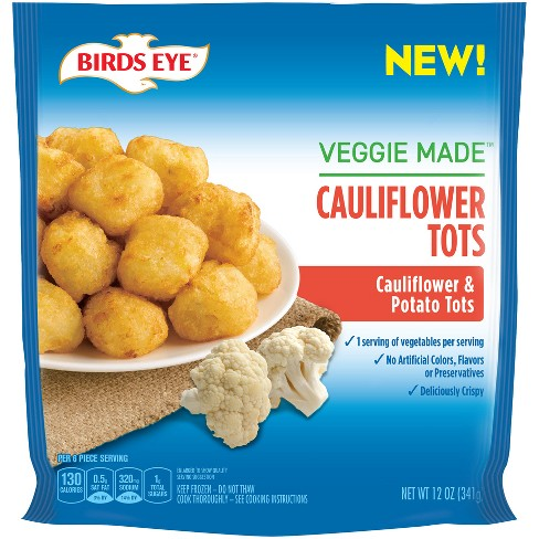 Birds Eye Veggie Made Frozen Cauliflower Tots - 12oz - image 1 of 1
