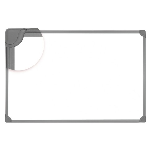 Universal® Design Series Magnetic Steel Dry Erase Board, 24 x 18, White, Black Frame - image 1 of 1