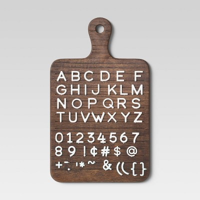 Bread Letterboard Brown - Threshold™