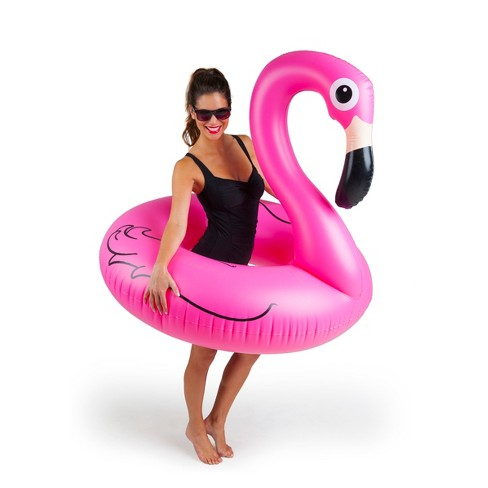 BigMouth Inc Giant Pink Flamingo Pool Float - 4ft - image 1 of 3
