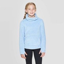 Girls' Fleece Funnel Neck Pullover - C9 Champion®
