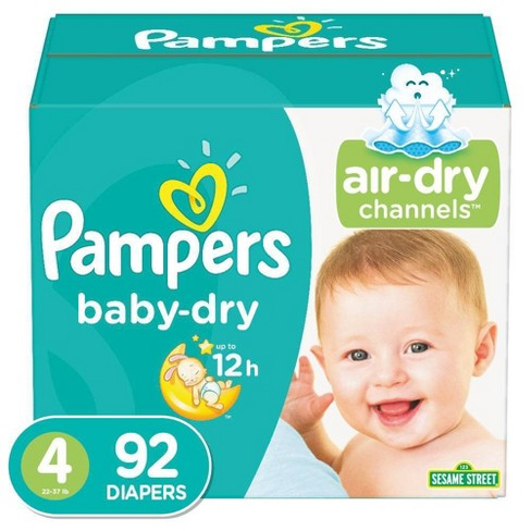 Pampers Baby Dry Diapers - (Select Size and Count) - image 1 of 3