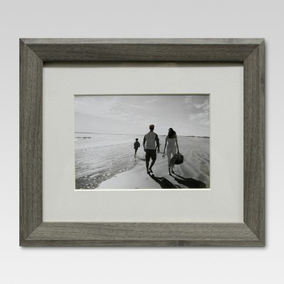 Single Picture Frame 5  x 7  Gray - Threshold™