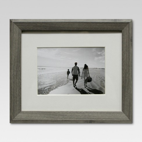"""Single Picture Frame 5"""" x 7"""" Gray - Threshold™ - image 1 of 4"""