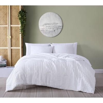 Julie Seersucker Comforter Set - Geneva Home Fashion