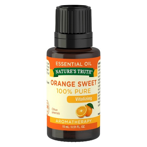 Nature's Truth Sweet Orange Aromatherapy Essential Oil - 15mL - image 1 of 4
