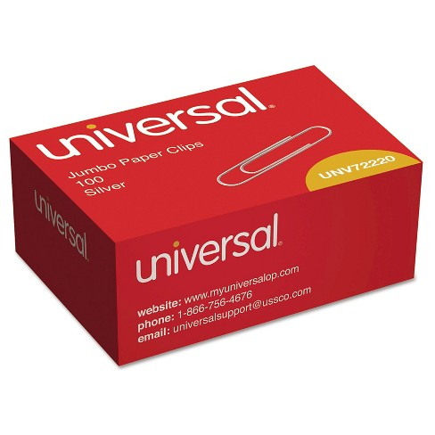 Universal® Smooth Jumbo Paper Clips,1000 ct - image 1 of 1