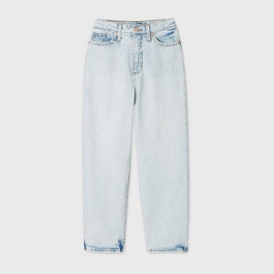 Women's High-Rise Vintage Straight Cropped Jeans - Universal Thread™