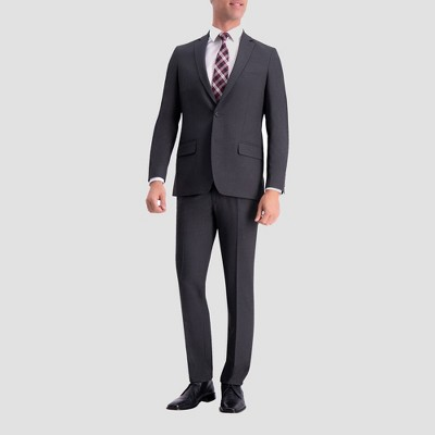 cccf7ddb0ce Haggar H26 Slim Fit Premium Stretch Suit Jacket - Charcoal Heather
