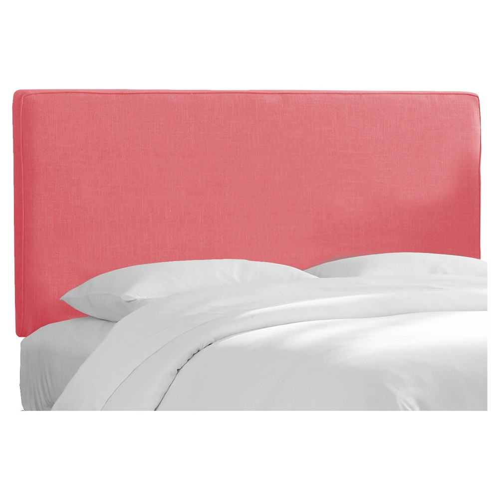 Austin Headboard Linen Coral California King - Skyline Furniture