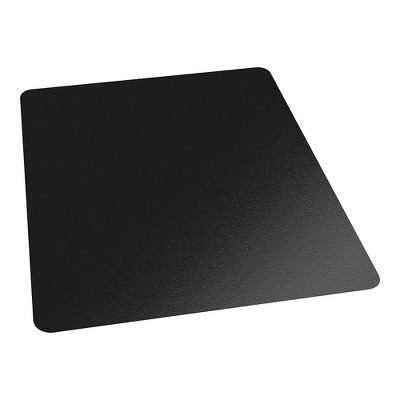 3'x4' Rectangle Solid Office Chair Mat Black - Staples